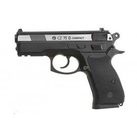 Pistolet wiatrówka CZ 75D Compact Dual tone