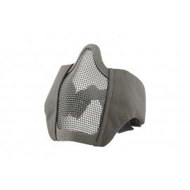 Maska Stalker Evo z montażem do hełmu FAST - Szara
