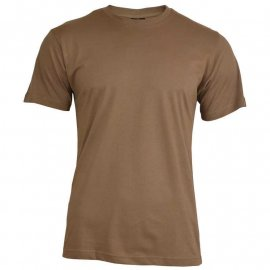 t-shirt Mil-Tec US STYLE brown