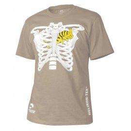 t-shirt Helikon kameleon w klatce piersiowej khaki