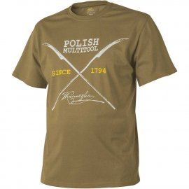t-shirt Helikon Polish Multitool coyote