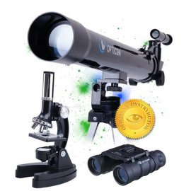Zestaw naukowy Teleskop + Mikroskop + Lornetka OPTICON ScienceMaster SE