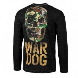 Koszulka z długim rękawem Pit Bull War Dog Black