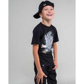 koszulka dziecięca Surge Pikujący orzeł czarna