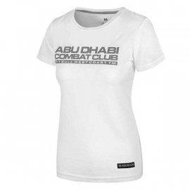 Koszulka damska Pit Bull Cobat Abu Dhabi  - Biała