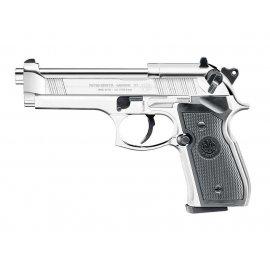 wiatrówka - pistolet BERETTA M92FS Chrome
