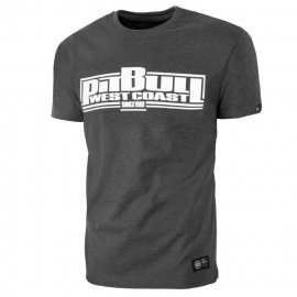 Koszulka Pit Bull Classic Boxing - Grafitowa