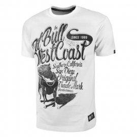 Koszulka Pit Bull Doggy - Biała