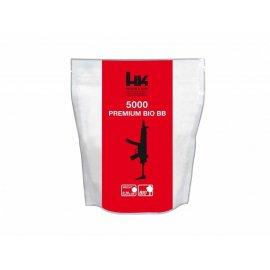 Kulki BB do ASG H&K Bio 0,20gr 6 mm 5000 szt. białe 054-014
