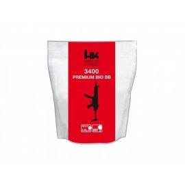 Kulki BB do ASG H&K Bio 0,30gr 6 mm 3400 szt. białe 054-016