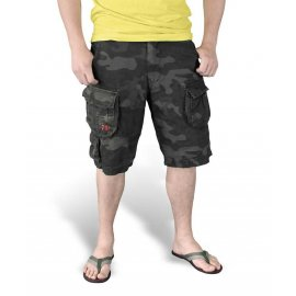Spodnie SURPLUS TROOPER SHORTS Black Camo