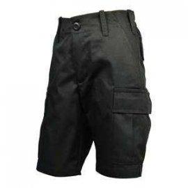 Spodnie Dziecięce Bojówki Krótkie MIRAN Czarny