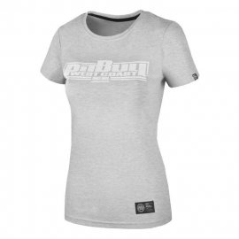 Koszulka damska Pit Bull Boxing - Szara