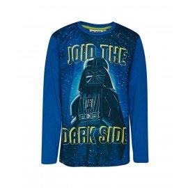 Koszulka dziecięca z długim rękawem Darth Vader LEGO WEAR Star Wars