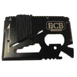 Karta survivalowa BCB Mini Work Tool Black