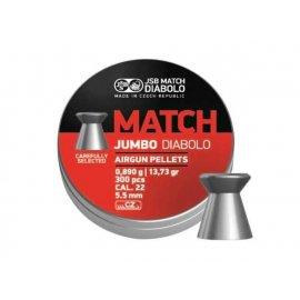 Śrut 5,50 mm JSB Exact Jumbo Match 300 szt.