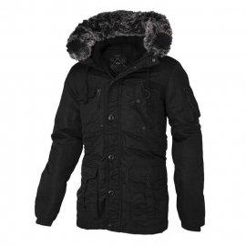 Zimowa kurtka z kapturem Pit Bull Rowcliff - Black