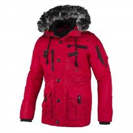 Zimowa kurtka z kapturem Pit Bull Rowcliff - Red