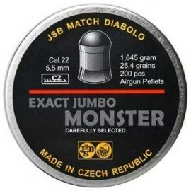 śrut 5,52 mm JSB EXACT JUMBO MONSTER 200 szt.