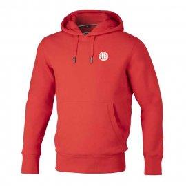 Bluza z kapturem Pit Bull Small Logo - Czerwona