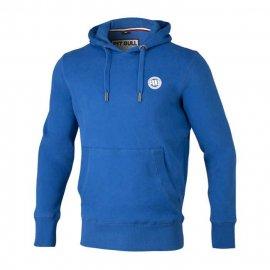 Bluza z kapturem Pit Bull Small Logo - Niebieska