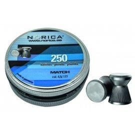 Śrut Norica Match 4,5mm 250 szt.