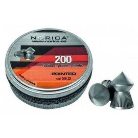 Śrut Norica Pointed 5,5mm 200 szt.