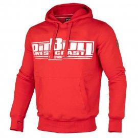 Bluza z kapturem Pit Bull Classic Boxing - Czerwona