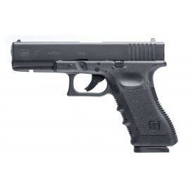 wiatrówka - pistolet Glock 17 blowback 4.5 mm BB/Diabolo CO2