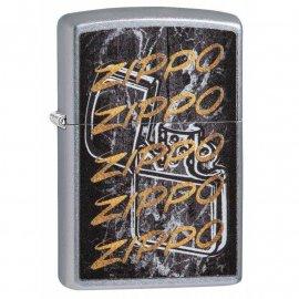 Zapalniczka ZIPPO Gold Script Design