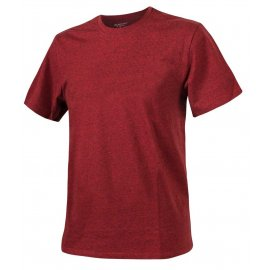 t-shirt Helikon cotton melange red