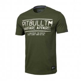 Koszulka Pit Bull Warfare - Oliwkowa