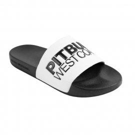 Klapki Pit Bull TNT'20 - Białe/Czarne