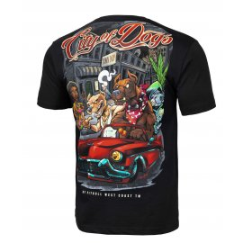 Koszulka Pit Bull City Of Dogs '21 - Czarna