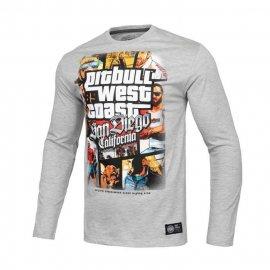 Koszulka z długim rękawem Pit Bull Most Wanted - Szara