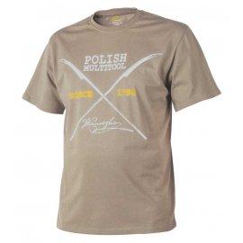 t-shirt Helikon Polish Multitool beżowy
