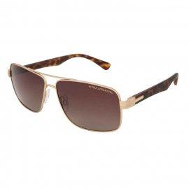 Okulary przeciwsłoneczne Pit Bull Hofer - Złote/Brązowe