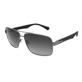 Okulary przeciwsłoneczne Pit Bull Hofer - Srebrne/Czarne
