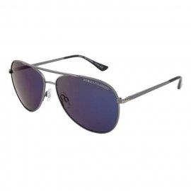Okulary przeciwsłoneczne Pit Bull Triton - Srebrne/Czarne