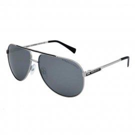 Okulary przeciwsłoneczne Pit Bull Roxton  - Srebrne/Czarne