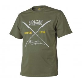 t-shirt Helikon Polish Multitool Olive green
