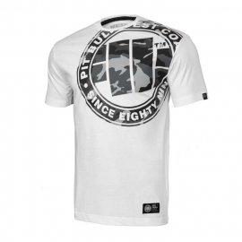 Koszulka Pit Bull All Black Camo - Biała