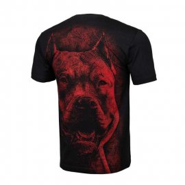 Koszulka Pit Bull Red Nose - Czarna