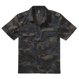 Koszula z krótkim rękawem BRANDIT US Hemd 1/2 Arm -  Darkcamo