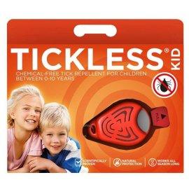 Odstraszacz kleszczy TickLess dla dzieci - pomarańczowy