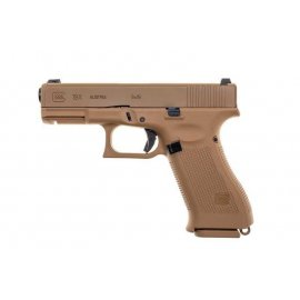 Pistolet ASG GBB Glock 19X Green Gas coyote