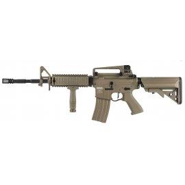 Karabin ASG Lancer Tactical LT-04 Proline G2 metal M4 RIS ETU Tan