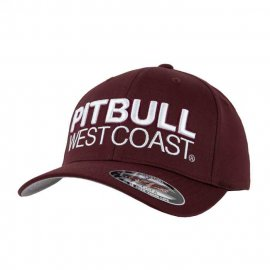 Czapka Pit Bull Full Cap Classic TNT - Bordowa