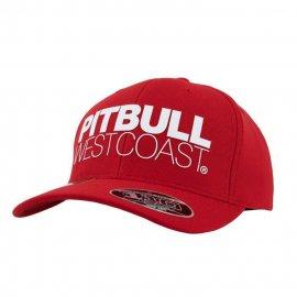 Czapka Pit Bull Snapback Classic Seascape - Czerwona