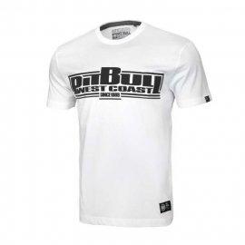Koszulka Pit Bull Classic Boxing '20 - Biała